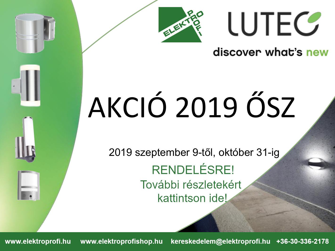 Lutec őszi akció