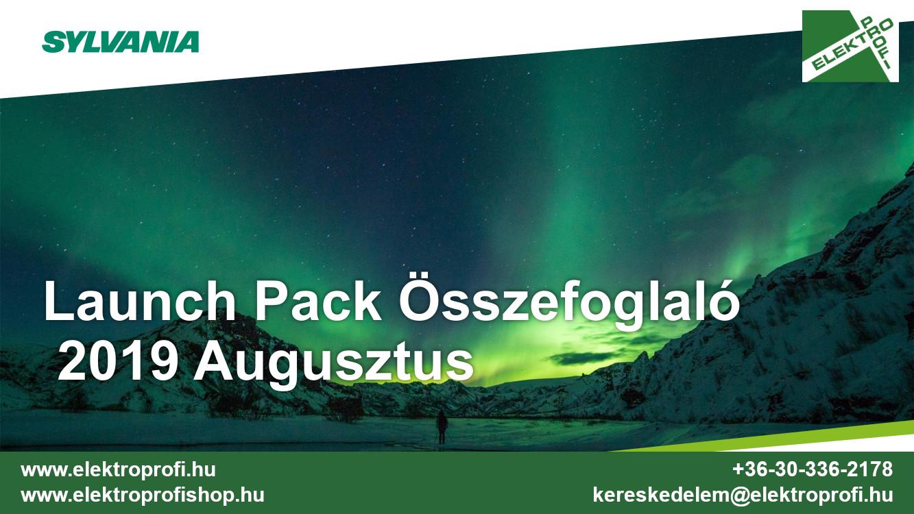 Sylvania Launch Pack Összefoglaló 2019 Augusztus