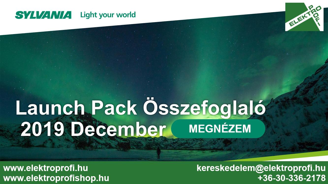 Sylvania Launch Pack összefoglaló 2019 December