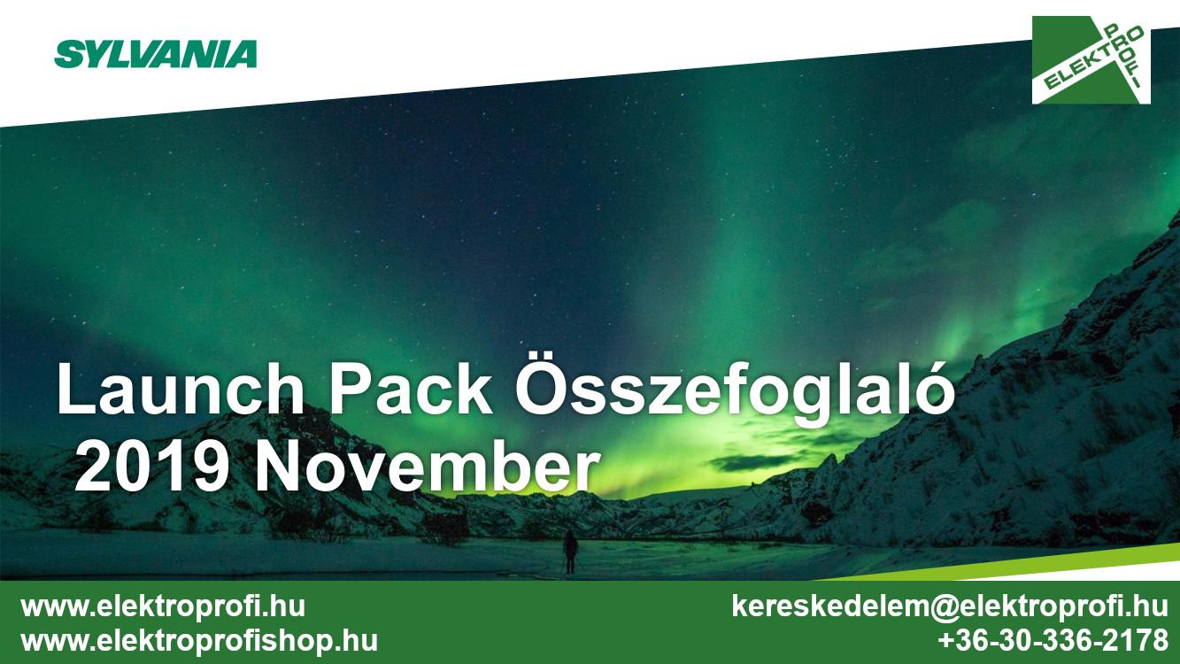Sylvania Launch Pack Összefoglaló 2019 November