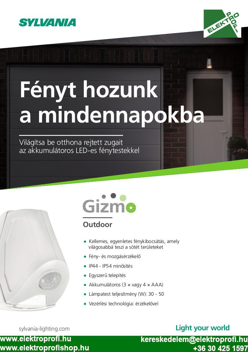 Sylvania Gizmo 2020