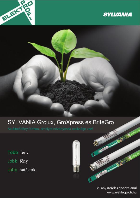 Sylvania - Grolux, GroXpress és BriteGro