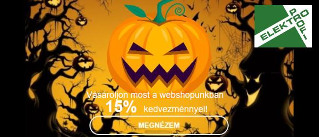 Szuper Halloweeni ajánlatunk!