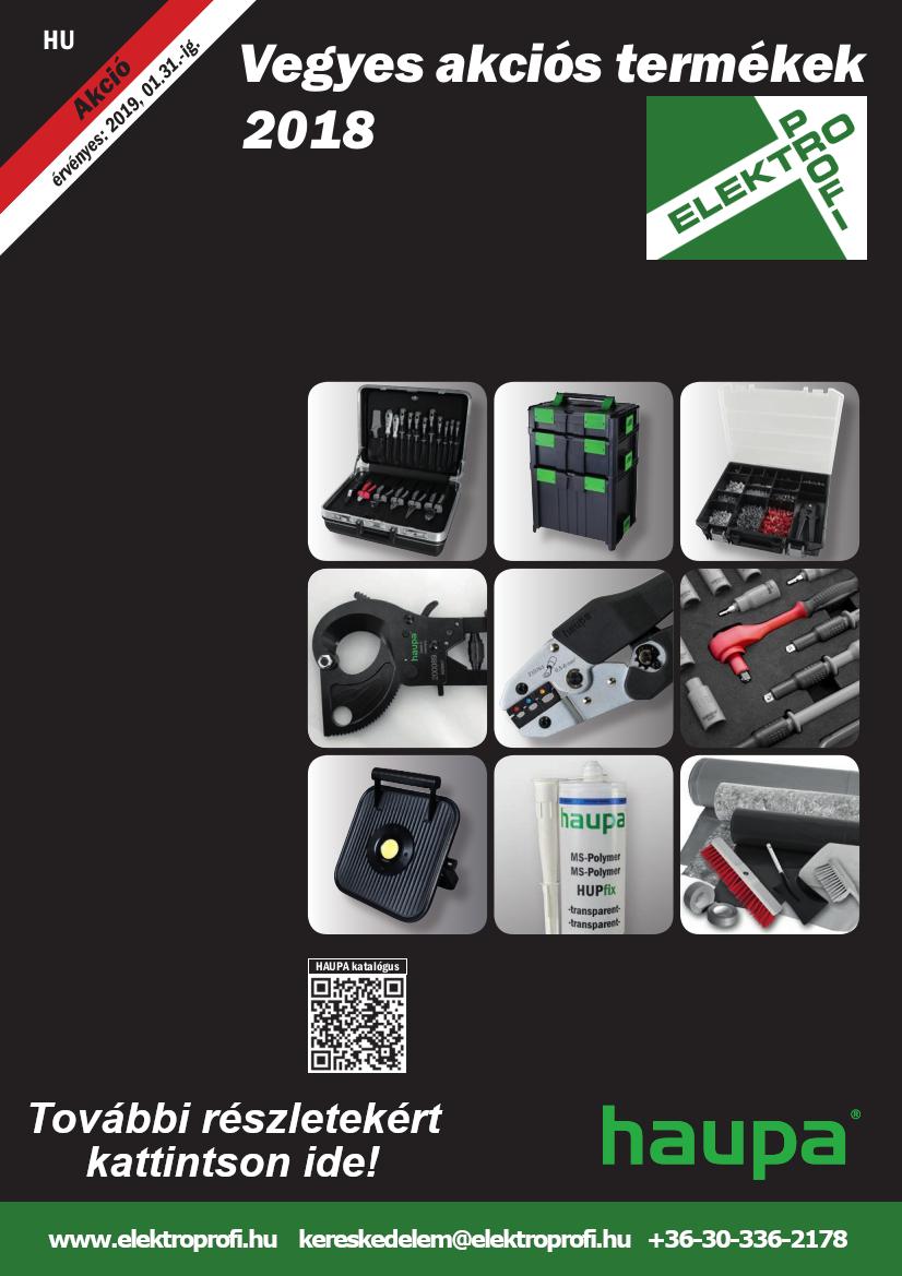 Haupa vegyes akciós termékek