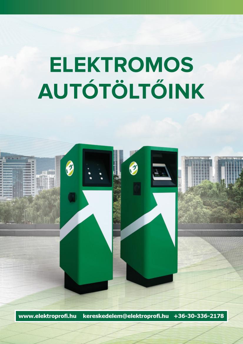 Elektromos autótöltő ajánlatunk