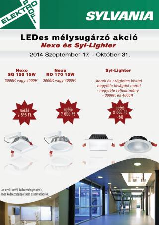 Sylvania LEDes mélysugárzó akció